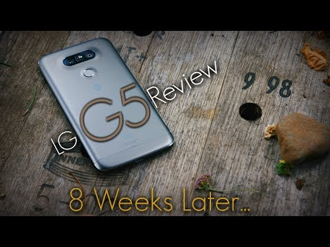 8 Weeks With The G5