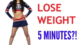 how to lose weight in 5 minutes