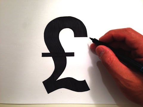 How to Draw the British Pound