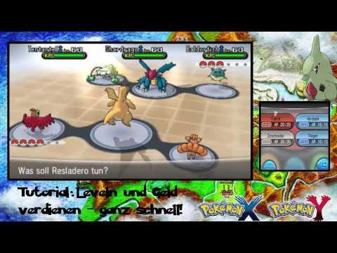 Pokemon XY [German/HD] Leveln und Geld machen - ganz schnell!!