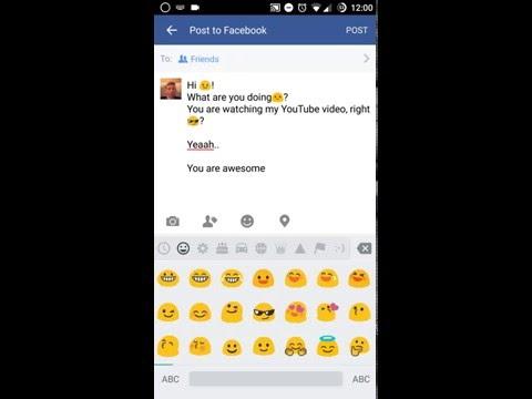 Insert Emoji with Google Keyboard 💪💪💪