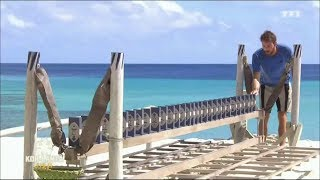 parodie Koh Lanta Fidji l'épreuve des dominos