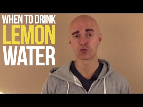 #AskYuri: When should I drink lemon water?