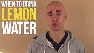 #AskYuri: When should I drink lemon water?
