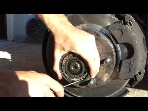 Removing Bearings and Rotor on a Ford F150
