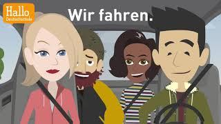 Download Deutsch lernen mit Dialogen / Lektion 7 / Was machst du am Dienstag? / Aussprache ″ch″ und ″sch″ Video