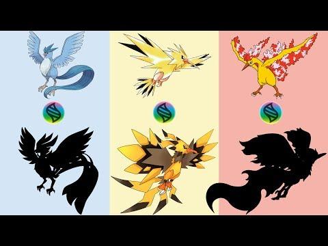 Fan Requests #37: Legendary Birds - Mega Zapdos, Moltres, Articuno (New Version)