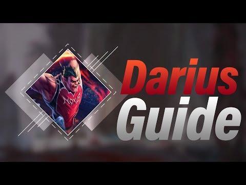 Darius Guide german - Top - S8 - LOL - by Toxic4Life