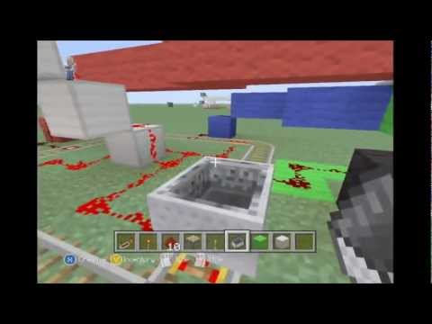 Minecraft redstone tutorial- Roulette Wheel mini game