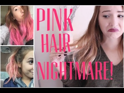 Pink Hair Nightmare + How I Got Back to Blonde (Kinda)