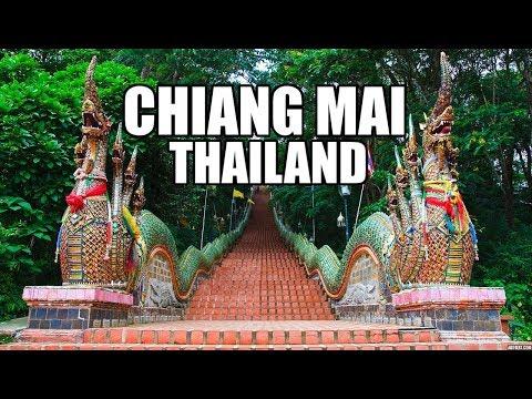 Chiang Mai, Thailand | Wat Phra That Doi Suthep | Night Bazzar | Thailand Ladyboy