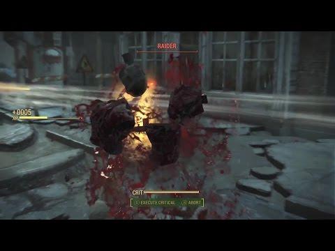BIG Fallout 4 Battle! 50 Diamond City Guard vs 50 Raider Wasters!