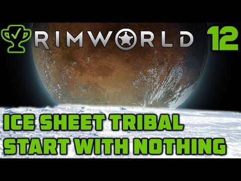 Turrets & Orbital Traders   Rimworld Ice Sheet Tribal Ep  12 Rimworld Beta 18 Ice Sheet Challenge