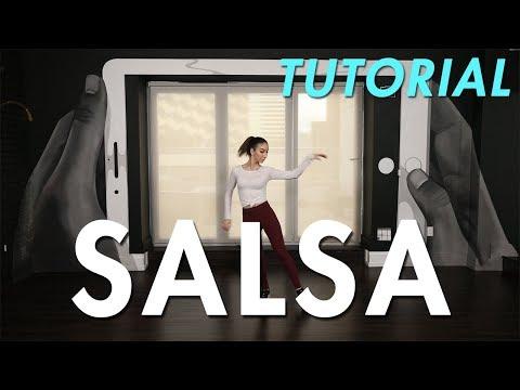 How to Salsa: Individual Salsa Step (Ballroom Dance Moves Tutorial) | MihranTV