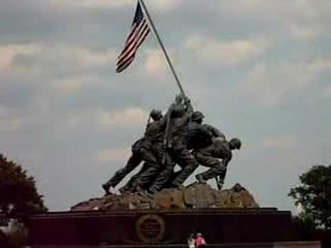 Iwo Jima Memorial in Arlington, Virginia