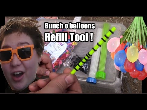 Special Refill Tool Bunch o Balloons refill kit easy magic balloon refill