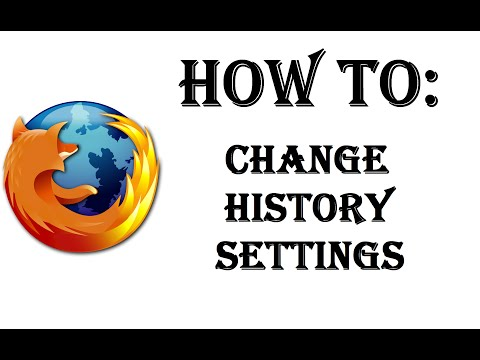 How To Change Your History Setting in Firefox - Remember or Never Remember History, Custom Settings