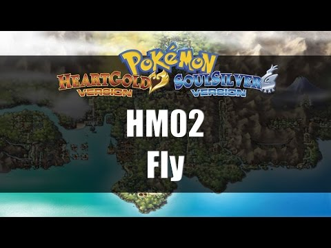 Pokemon Heart Gold & Soul Silver | Where to get HM02 Fly