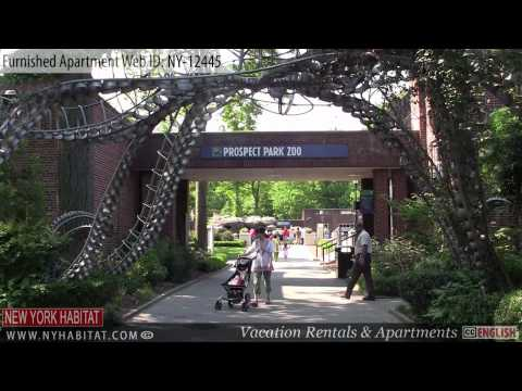 Brooklyn, New York City - Video tour of a furnished apartment on Underhill Avenue(Prospect Heights)