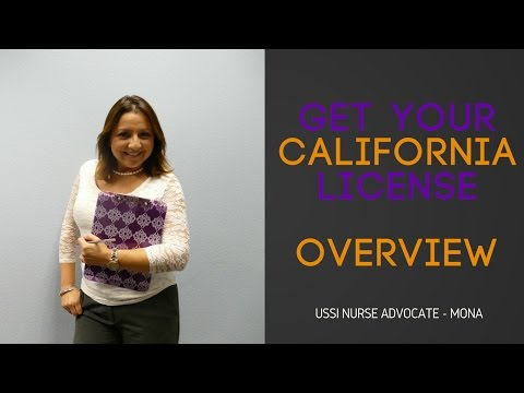 CA RN Licensure Series - Overview