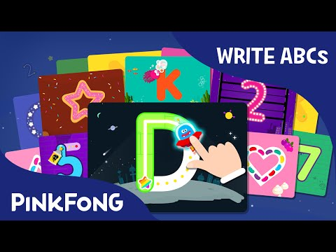 Learn to Write Uppercase Alphabets A to Z in 20mins | PINKFONG ABC Alphabet