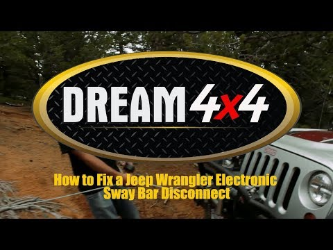 How to Fix a Jeep Wrangler Electronic Sway Bar Disconnect