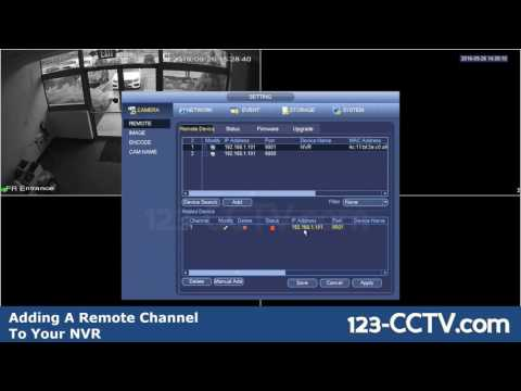 How to add remote channels from your DVR