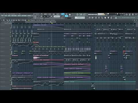 Hard Trap FLP (Professional project- SAYMYNAME & TERROR BASS style)