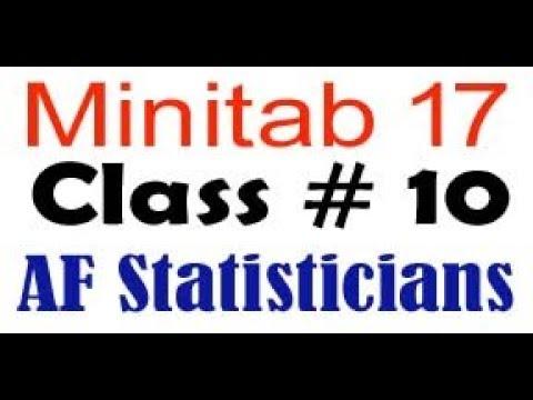 Simple Regression minitab 17 in urdu and hindi