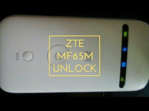 Unlock ZTE MF65M (locked to local or global ISP) pocket WiFi modem in sure ways