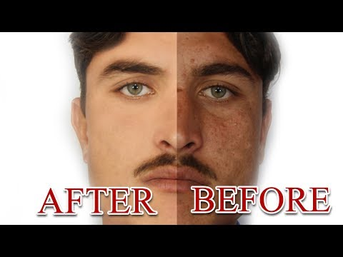 How To Clean/Smooth Face in PhotoShop Cs5 | Skin Re Touching | Easy & Fast