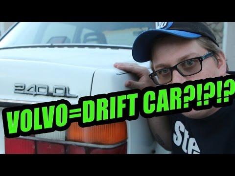 VOLVOS MAKE PERFECT DRIFT CARS!!!!!