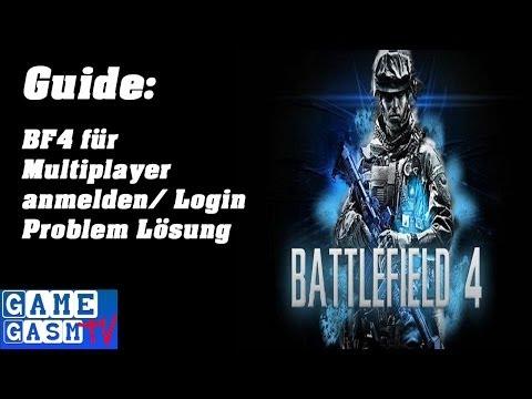 BF4 (PS4) - Für Multiplayer anmelden - EA und PSN Login Problem und Lösungsweg