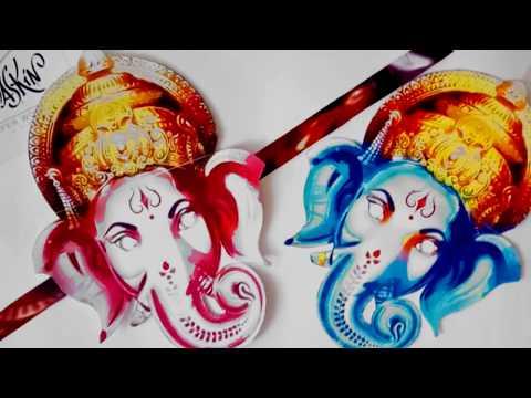 How to make Ganesh mask MaskinBox for kids