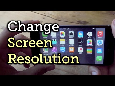 Change the Resolution & Enable Home Screen Landscape Mode - iPhone 6 [How-To]