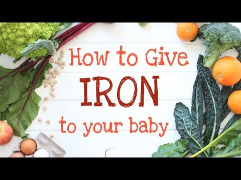 How to give Iron to your baby