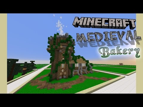 Minecraft Medieval Bakery (Tour on CupcakeCraft)