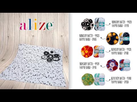 Alize Burcum Batik ile Kullanışlı Battaniye Yapımı- Making Useful Blankets