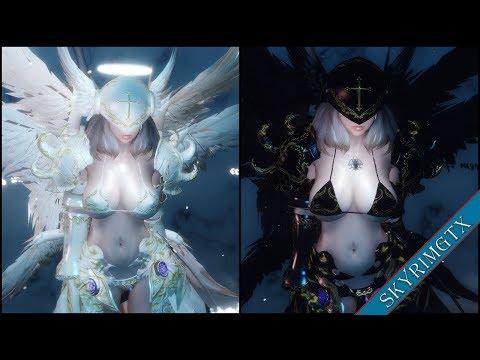 Skyrim: Angel Armor 1 01 | Daikhlo