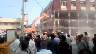 Demolish of building