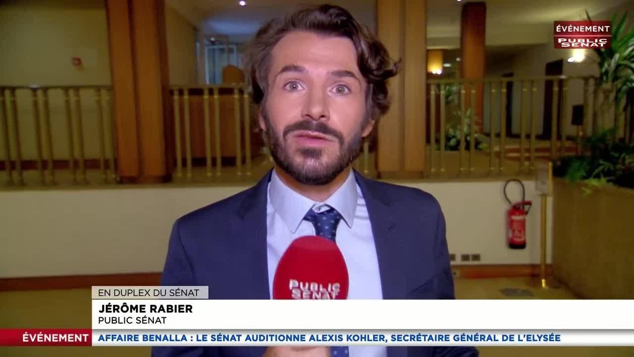 Affaire Benalla : l'audition d'Alexis Kohler, secrétaire général de l'El... - Evénement (26/07/2018)