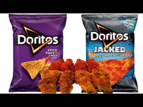 Extra Crispy Dorito Chicken Wings