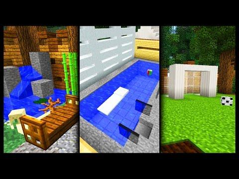 Minecraft  - Garden Designs & Ideas