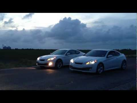 Genesis Coupe 3.8 - Manual vs. Automatic