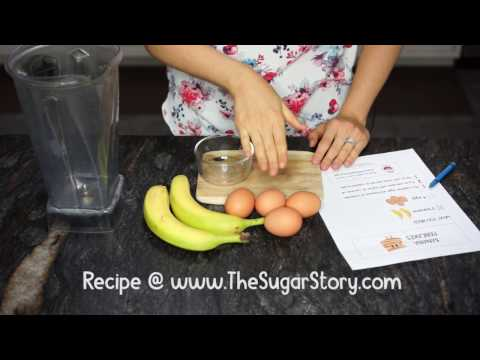 Recipes for Kids: Banana Pancakes from - The Sugar Story
