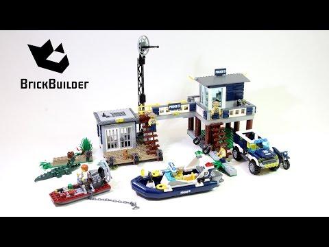 Lego City 60069 Swamp Police Station - Lego Speed Build