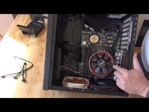 HTPC build - watch me assemble my HTPC in a Silverstone GD09 case!