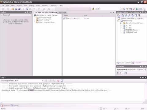 HOW TO MAKE SETUP IN VB.NET 2005.avi