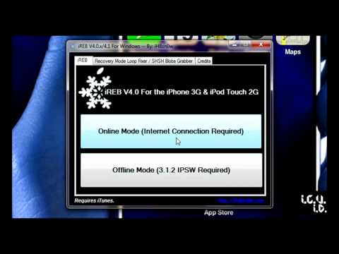 ipod touch DFU mode dont work (help !)