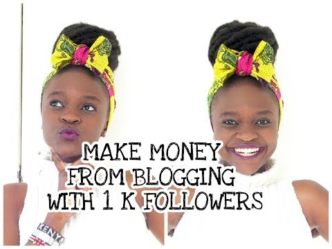 How I Monetized My Blog with 1K followers